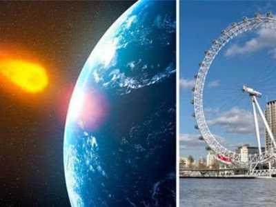 NASA小行星警告 巨型小行星
