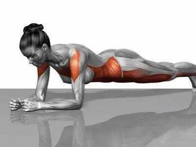 做平板支撑的时候 做运动时候肌肉抖