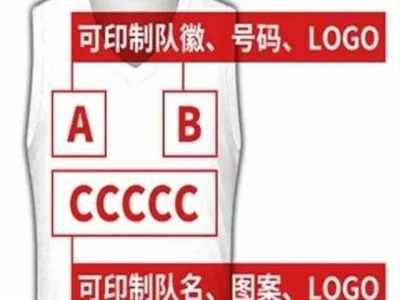 篮球服标配尺寸与位置 篮球服号码