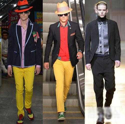 西装搭配运动鞋很流行但别瞎搭 男士小西装配运动鞋