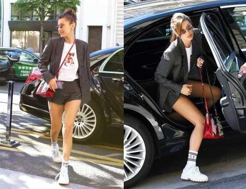 西服配运动鞋 西服搭运动鞋