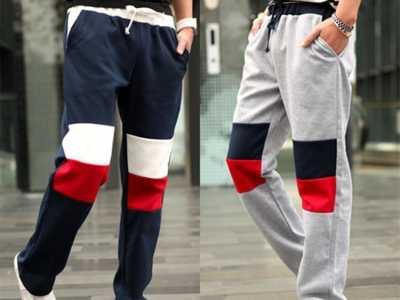 男士运动裤怎样搭配的方法和技巧 男浅灰色运动裤搭配