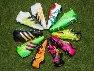 阿迪达斯统治2016年的足球鞋市 16年特别流行的运动鞋