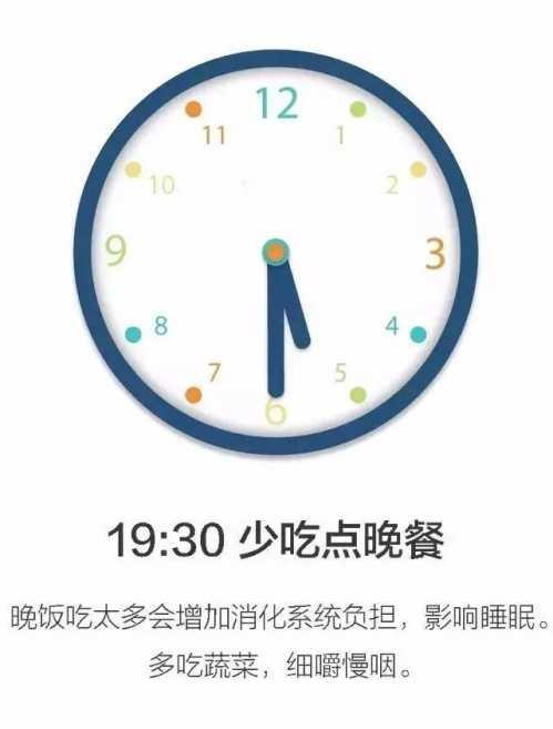 全球公认最健康的作息时间表 健康的早上运动进餐时间表