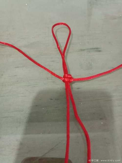 平结手链的编法教程 平结情侣手环编法