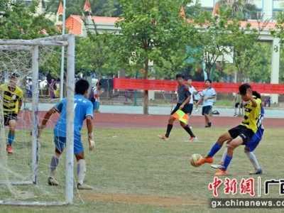 广西12支初中生队伍角逐校园足球邀请赛 广西足球队