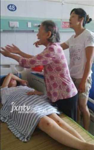 江西永新女生遭围殴续 北京女生打人