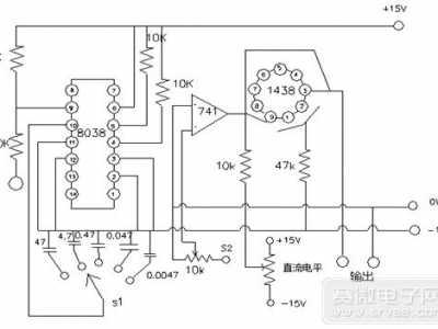 函数信号发生器的原理图及设计 函数信号发生器作用