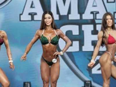 中国最美的女健美运动员 中国健美女运动员