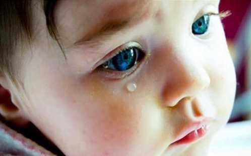 用奶水给宝宝洗眼睛结果我天天以泪洗面 宝宝眼屎能用母乳洗吧